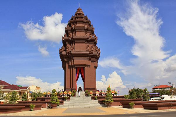 Kết quả hình ảnh cho Đài Độc Lập Cambodia