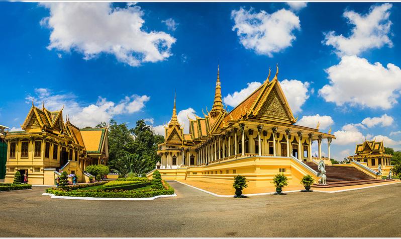 Hoang Cung Campuchia 2
